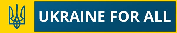 logo Ukraine for all